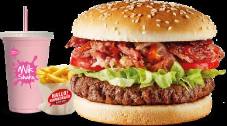 Bad Boy Barbecue Burger Menu