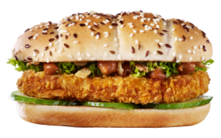 Chicken Sandwich Saté