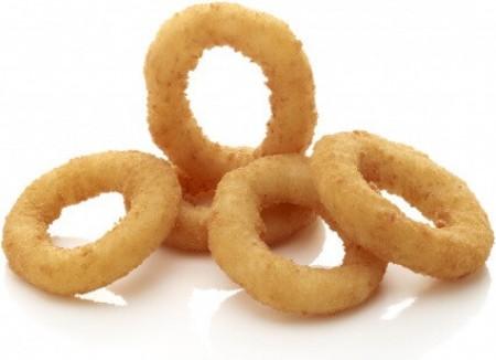 Gefrituurde ui ringen 5 stuks