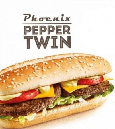 Phoenix Pepper Twin Menu